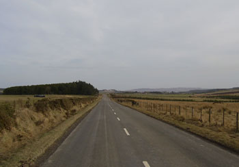 The old road to Berwick