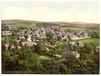Cumnock in 1890's. Click for larger image