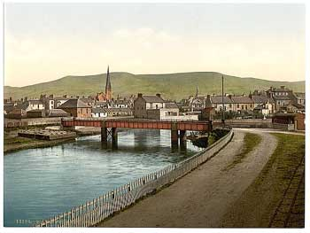 View of Girvan around 1900