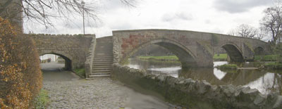 Old bridge in Haddington