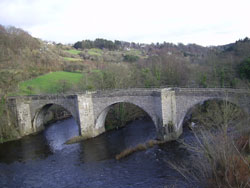 The Old Bridge at Lanark