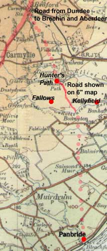 Based on half-inch OS map, sheet 24, 1914. With thanks.