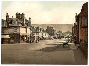 Main street in Largs
