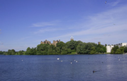 Linlithgow Palace and Lake