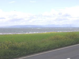 Coastal strip south of Turnberry