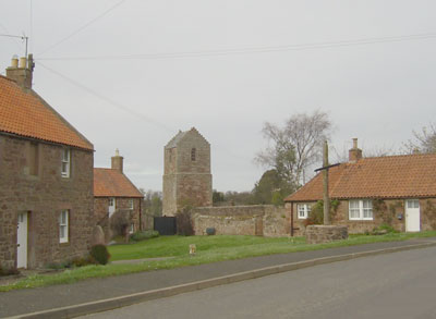 Old church in Stenton