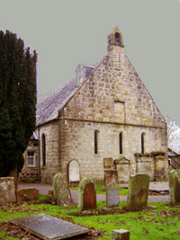 Norman church at Symington
