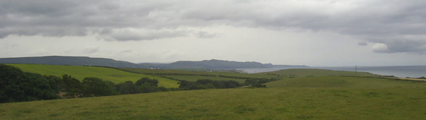 View towards Girvan from near Turnberry